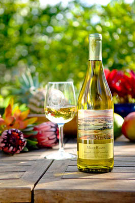 "Maui's Winery Environmental Product ""Maui Blanc"" Wine"