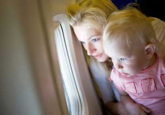 guide to flying with children