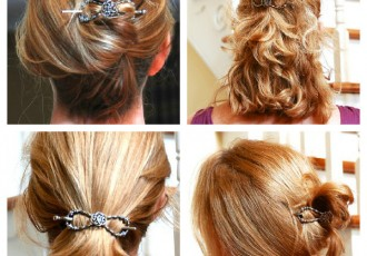Hair Clip for easy up dos during travel