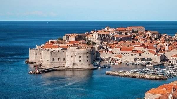 view Dubrovnik houses