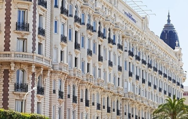 hotel Cannes architecture
