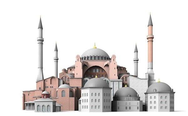 sculpture mosque Istanbul