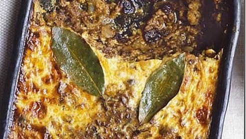 south african Bobotie recipe