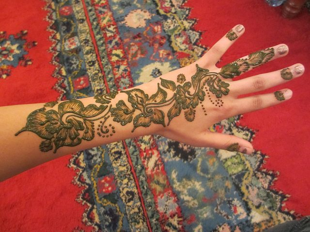 henna morocco baby shower