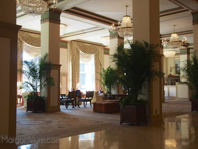Lobby of the Francis Marion Hotel