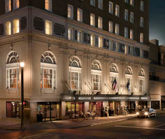 Photo via the Francis Marion Hotel website