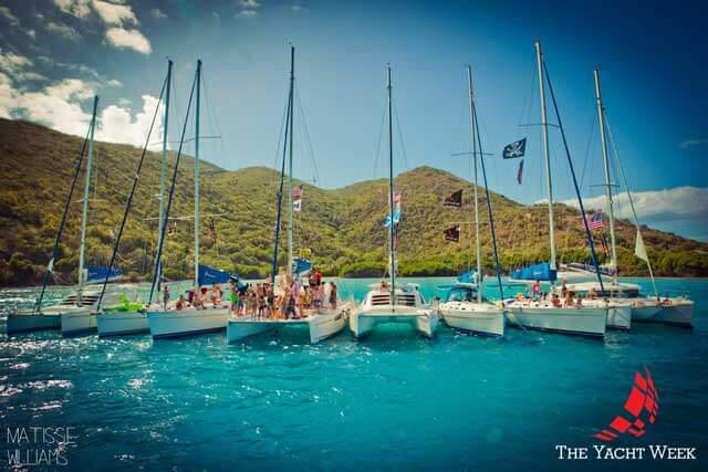 photo via The Yacht Week Facebook page