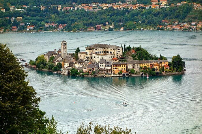Lago di Orta, Italy, piedmont