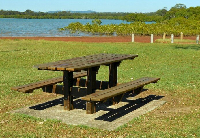 Oyster Point picnic table
