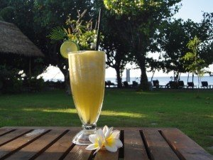 Enjoy a freshly squeezed fruit juice in Bali with as many fruits as you desire!
