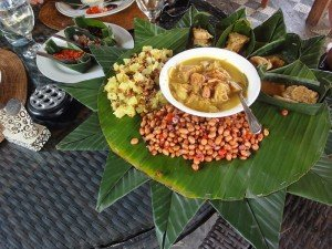 Jackfruit is versatile enough to feature in Balinese cooking, such as curries.