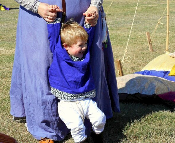 medieval Viking boy