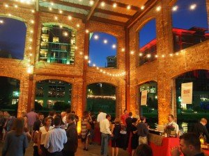 The Wyche pavilion on the Reedy River was the setting for Friday evening's Taste of the South