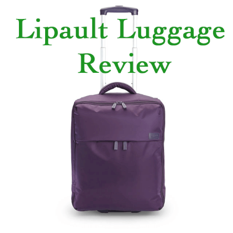 Lipault luggage review