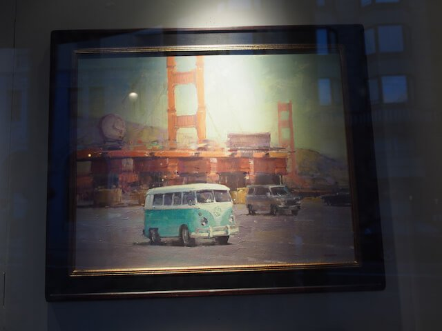 Long associated with California, the Summer of Love, and surf culture, the VW minibus is somewhat iconic in this area.