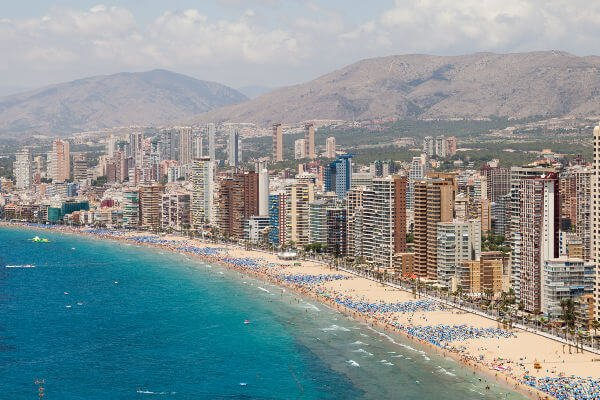 best-beaches-in-spain-benidorm