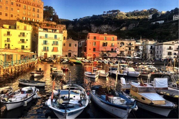 sorrento-harbour