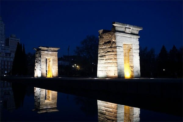 Templo-de-Debod What To Do In Madrid For 3 Days