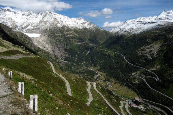 best-motorcycle-road-trips-in-the-alps-furka-pass