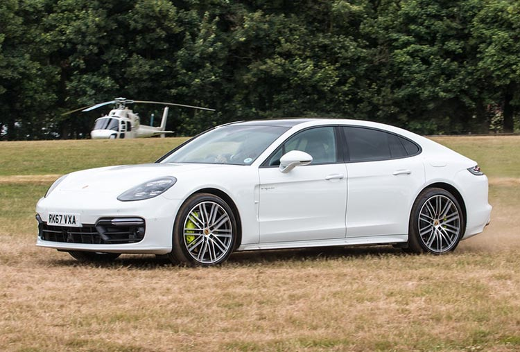 Porsche Panamera at Royal Ascot Heliport