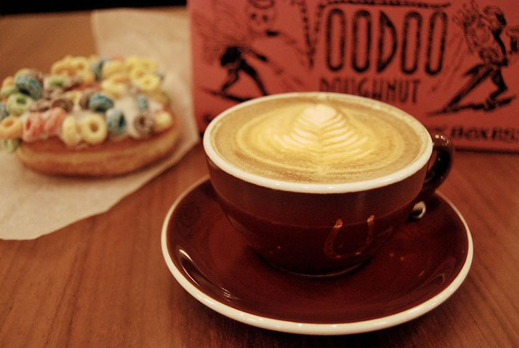 Voodoo Donuts and Stumptown Coffee