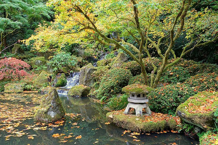 Heavenly Falls Portland Japanese Garden