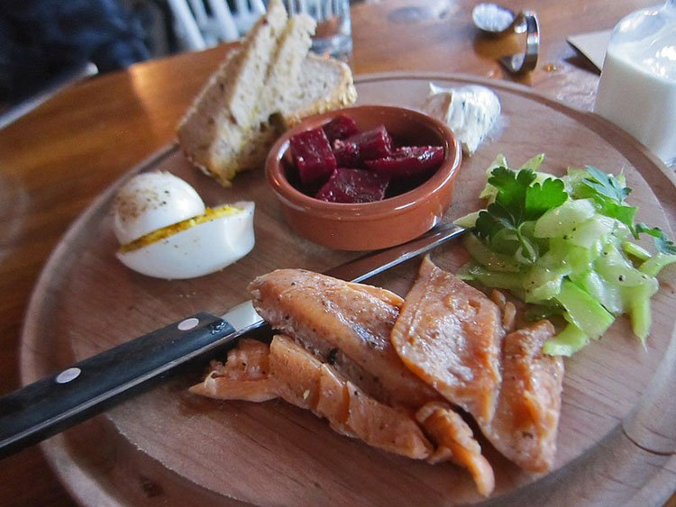 Smoke Trout Board - Tasty n Alder